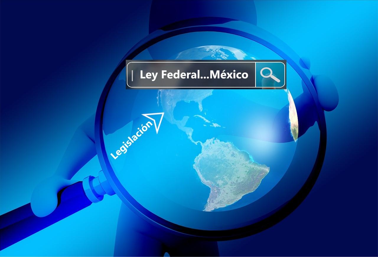 búsqueda jurídica, Buscador y mapa latinoamericano señalando México