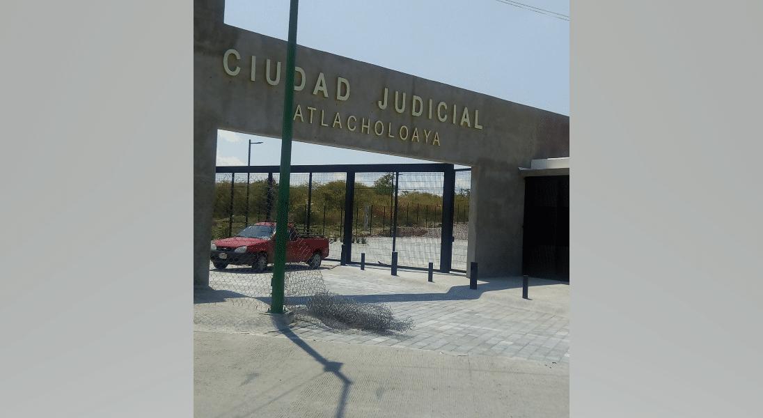 ciudad judicial de Atlacholoaya Morelos