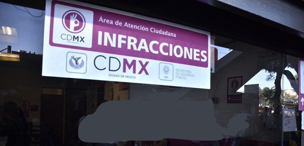 multas cdmx e infracciones