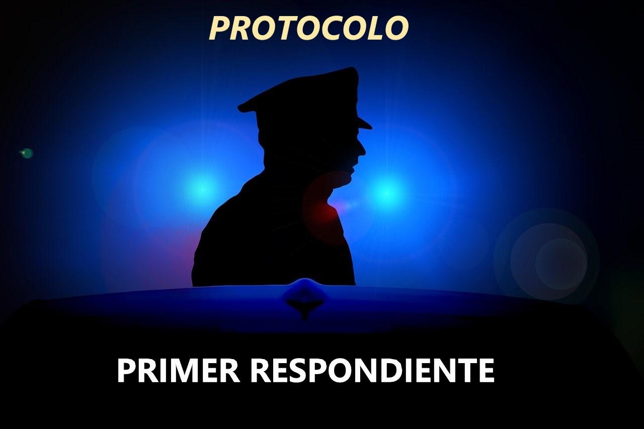 POLICIA PRIMER RESPONDIENTE