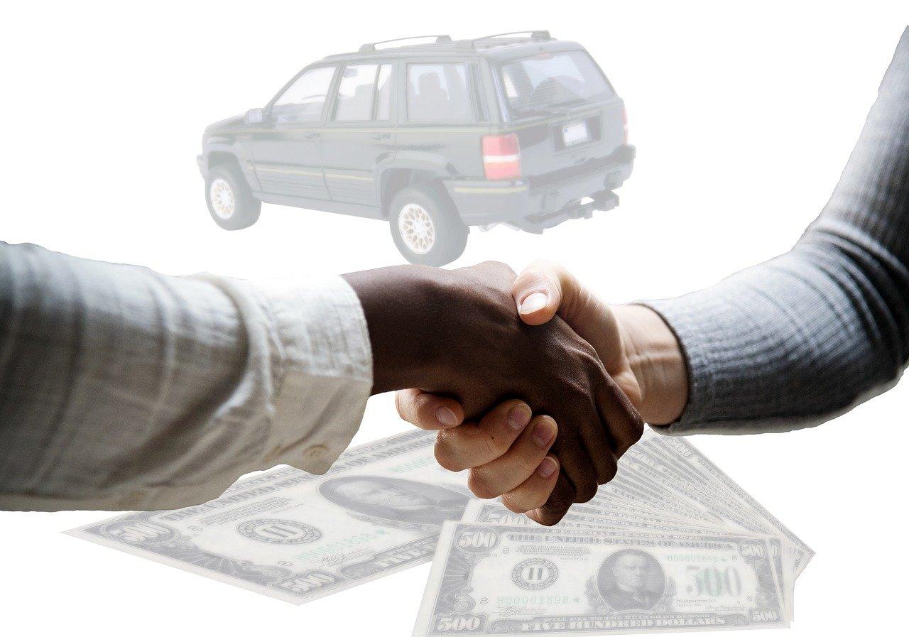 contrato de compraventa de automóvil
