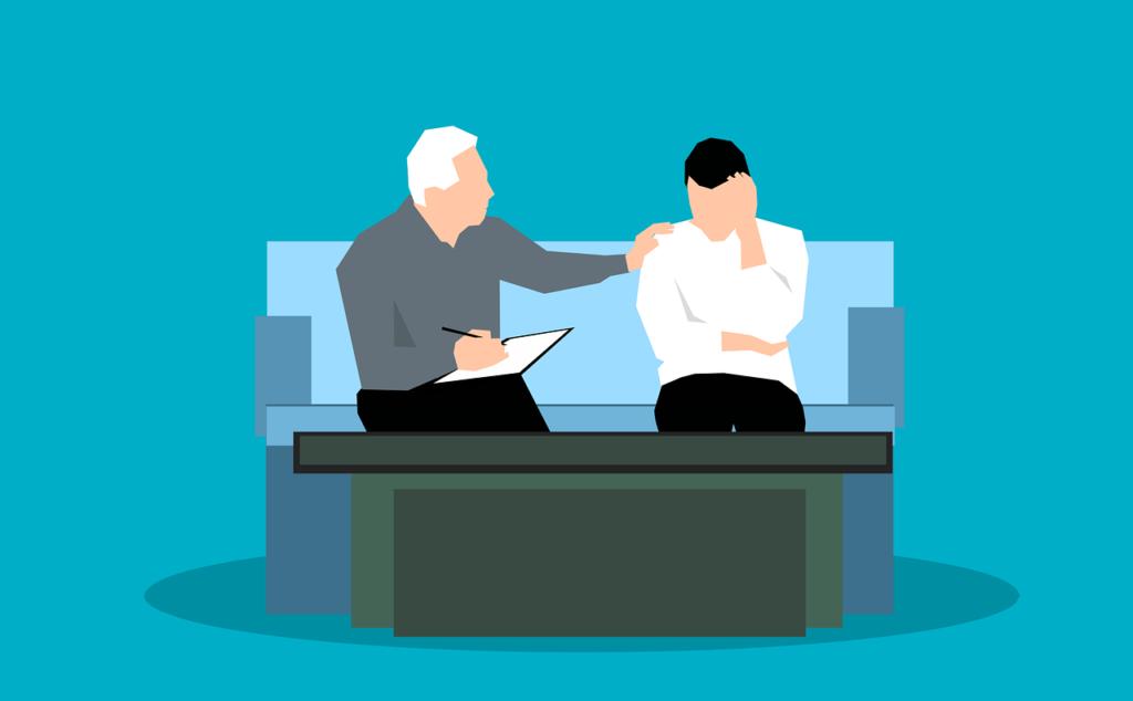Una persona asesorando a otra. Asesoría Jurídica Online