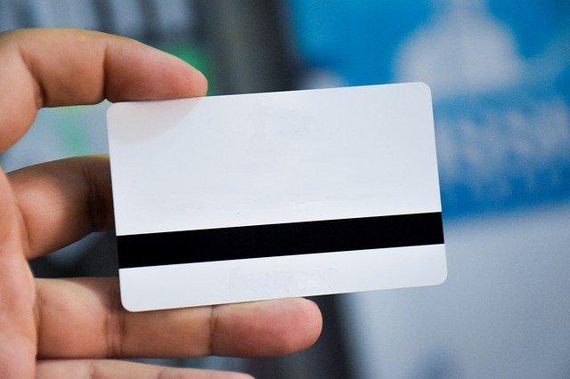 tarjeta en blanco. pasaporte electrónico
