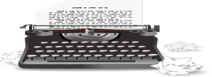 maquina de escribir para redaccion