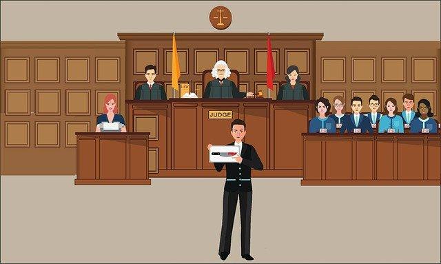 tribunal y corte, distintos tipos de abogados